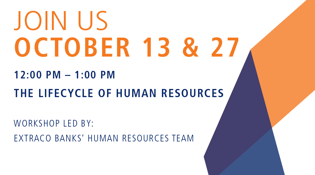 Join us for a two-part Bank & Brews webinar all about Human Resources