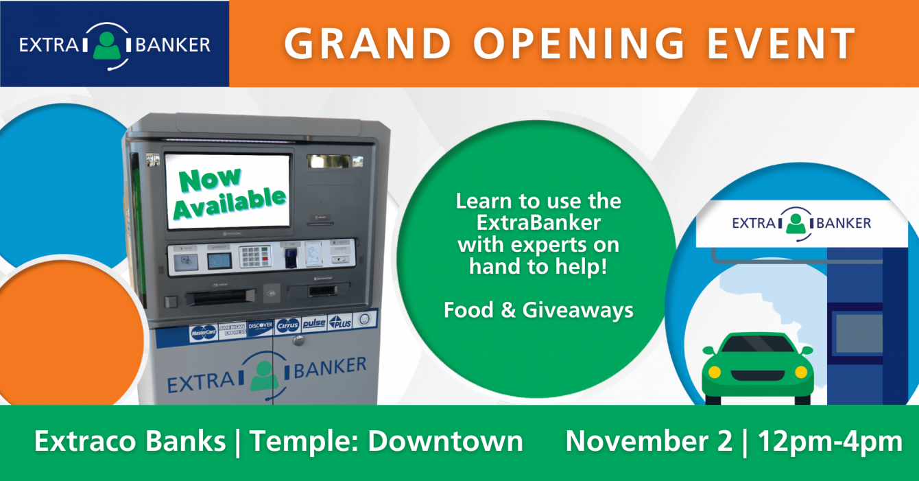 Grand Opening Temple ExtraBanker