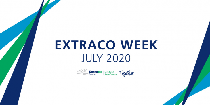 Extraco week banner