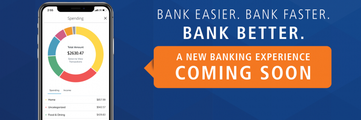 A new banking experience coming soon.