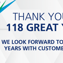 Thank you for 118 great years!