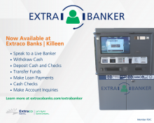 Try the new ExtraBanker Video Teller at Extraco Banks | Killeen!
